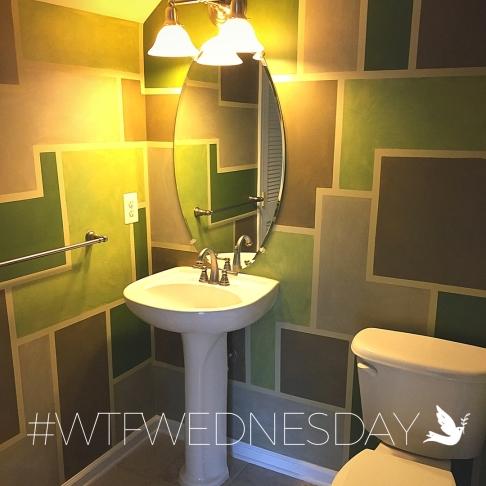 WTF Wednesday 1 - Geo Bathroom