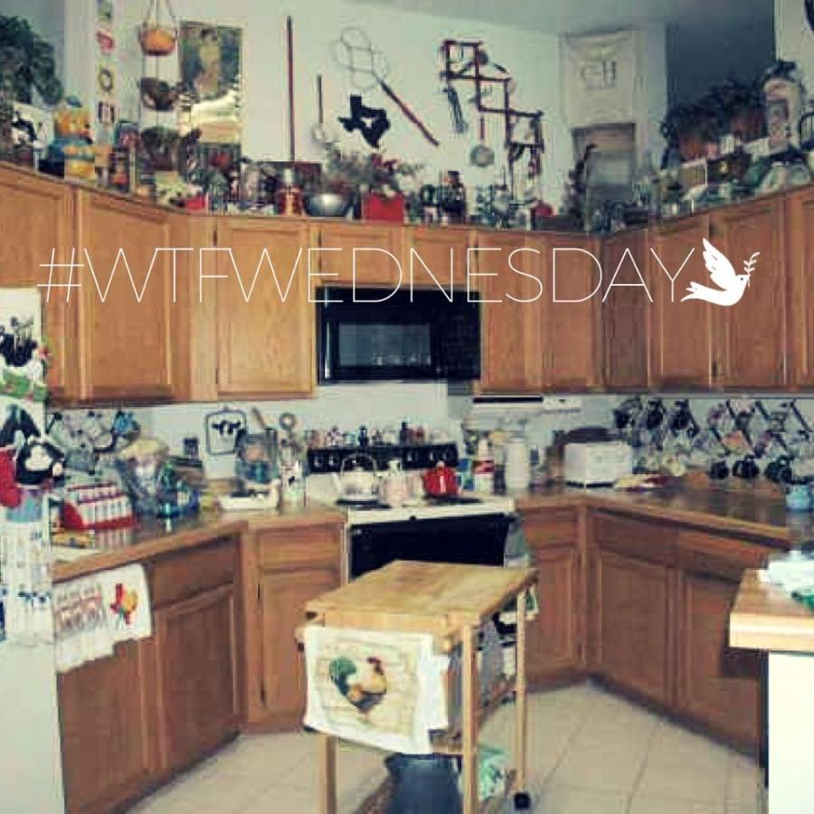 WTF Wednesday 2 - Cluttered Kitchen
